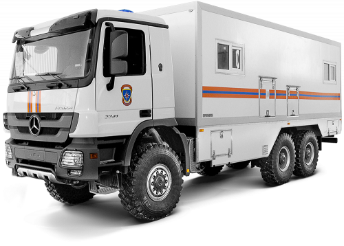 Special purpose vehicles of the Ministry of Emergencies